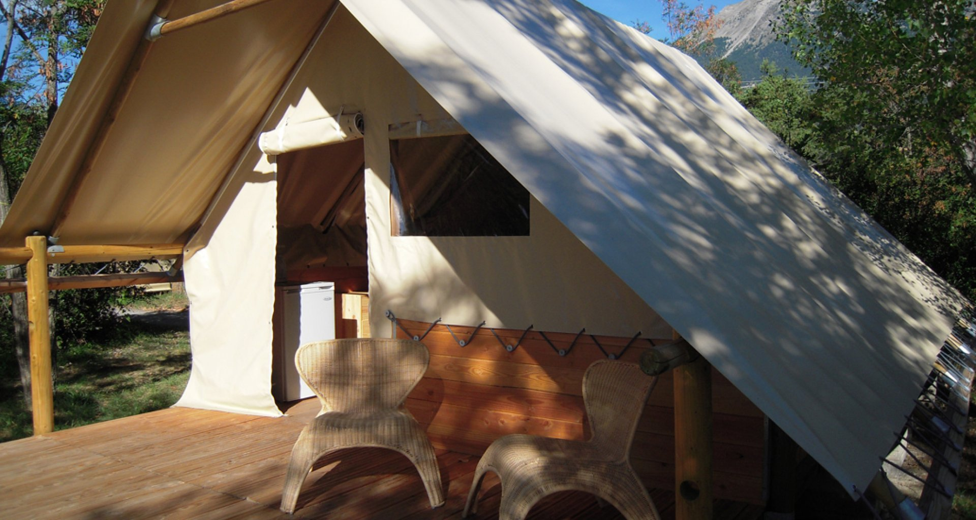 Bamboe lodge tent