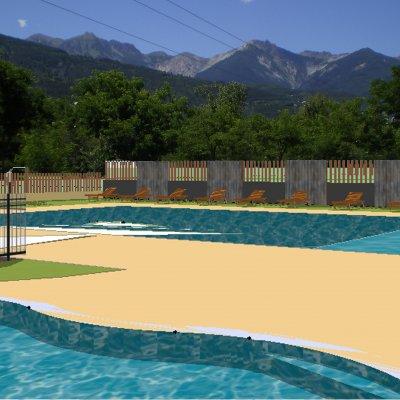 Notre nouvelle piscine